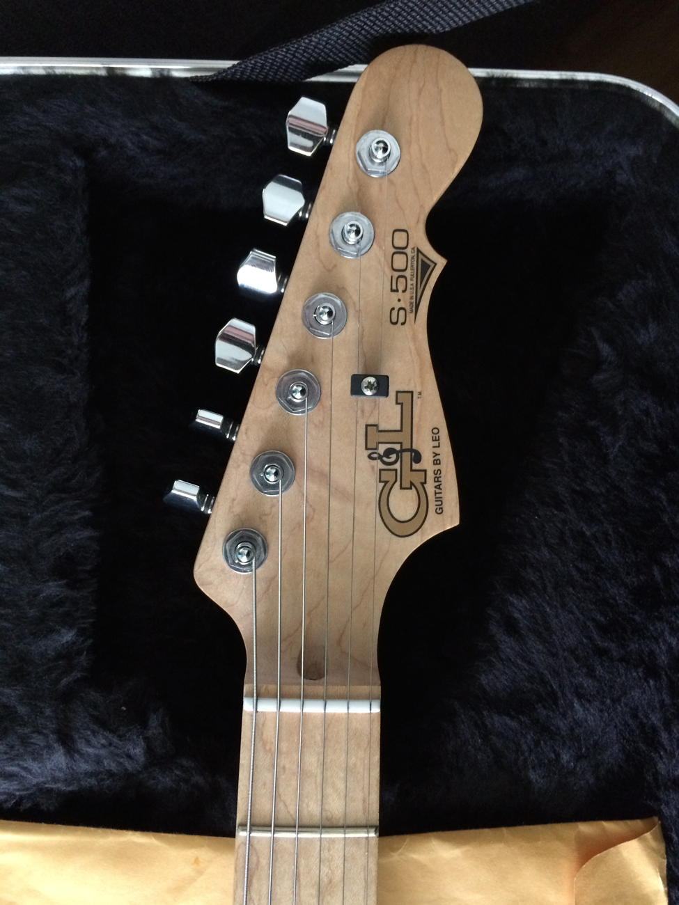 The Gl Discussion Page View Topic Ngd S 500 With A Mystery Guitar Wiring Schematic This Is My First Strat Style And Im Glad I Went Straight For Quite Impressed By Feel Of Neck