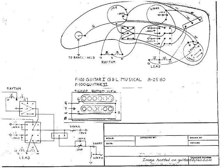 1980 F-100 Wiring Schematic