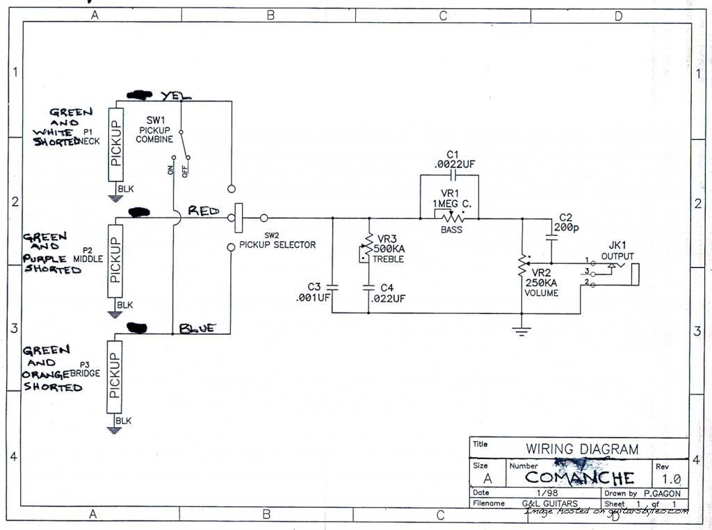 Comanche wiring diagram on g&l asat classic wiring diagram, g&l legacy wiring diagram, g&l comanche body, 5 way switch wiring diagram,