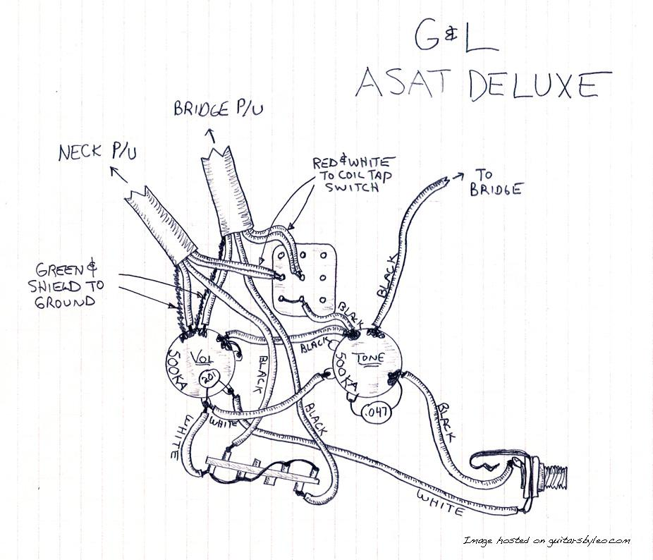 The G&L Discussion Page • View topic - Tribute Bluesboy Do I ... G Amp L Asat Guitar Wiring Diagram on