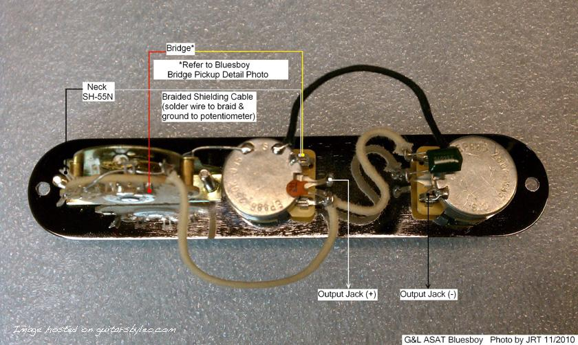 G L Asat Special Wiring Diagram on